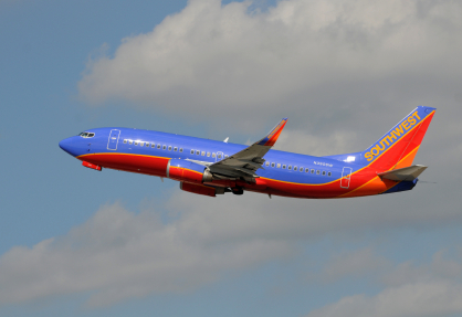 Southwest Airlines Boeing 737 taking off